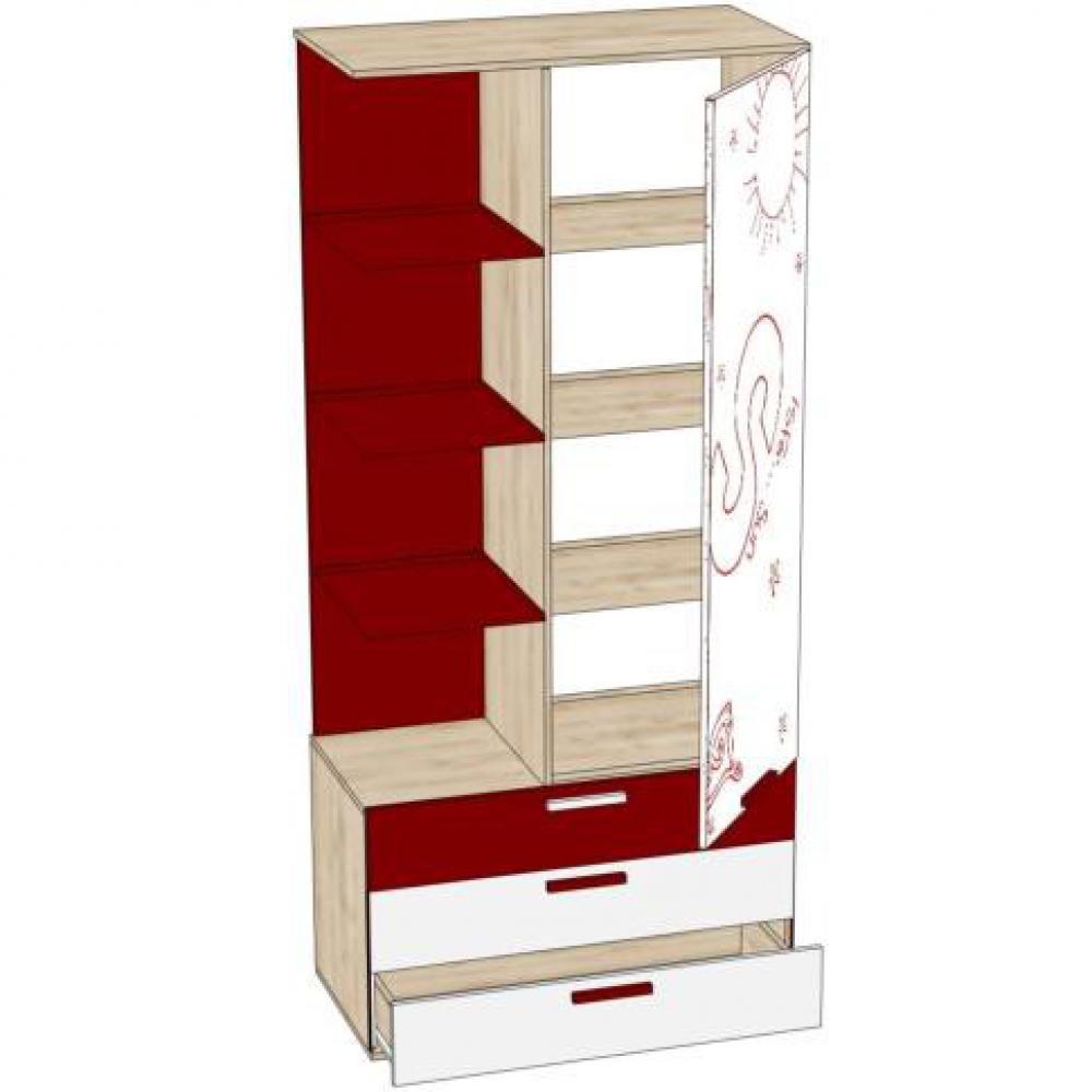Купить мебель в спб - шкаф комбинированный алфавит лд 506.13.